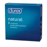 DUREX NATURAL 3 UDS