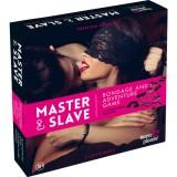 MASTER SLAVE KIT BDSM PARA PAREJAS ROSA