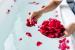 ¿Cómo preparar un baño romántico?